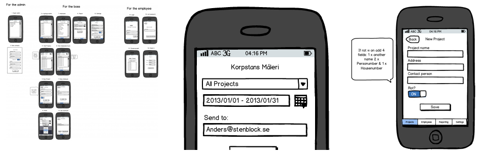 tidrapportering-app-nijavi